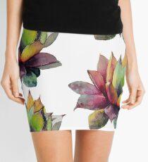 Rainbow Succulent Mini Skirt