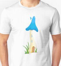 blue fantastic mashroom T-Shirt