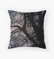 Judi's Tree Throw Pillow