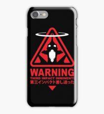 Evangelion Alert iPhone Case/Skin