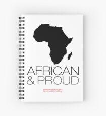 African & proud Spiral Notebook