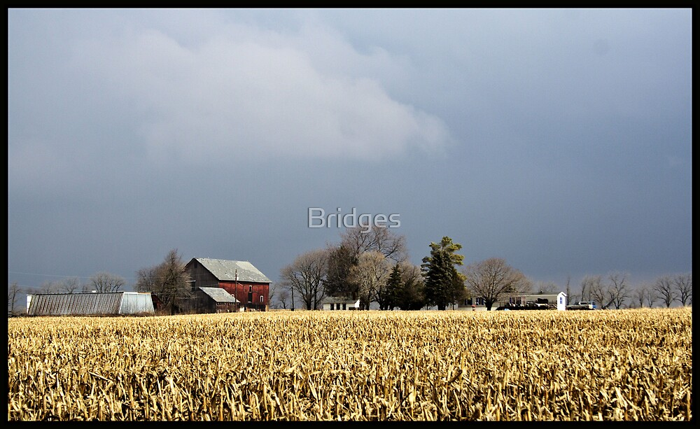 Stormy Day On The Farm by Bridges