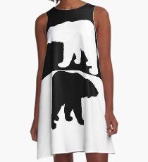 Polar bear A-Line Dress
