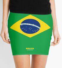Brazil represent Mini Skirt