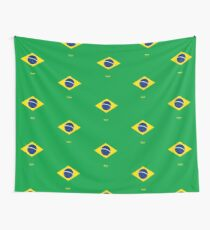 Brazil represent Wall Tapestry