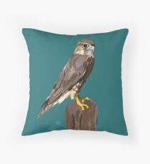 Isla the Merlin Throw Pillow