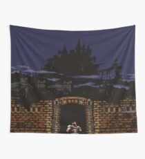 Super Castlevania IV Intro Wall Tapestry