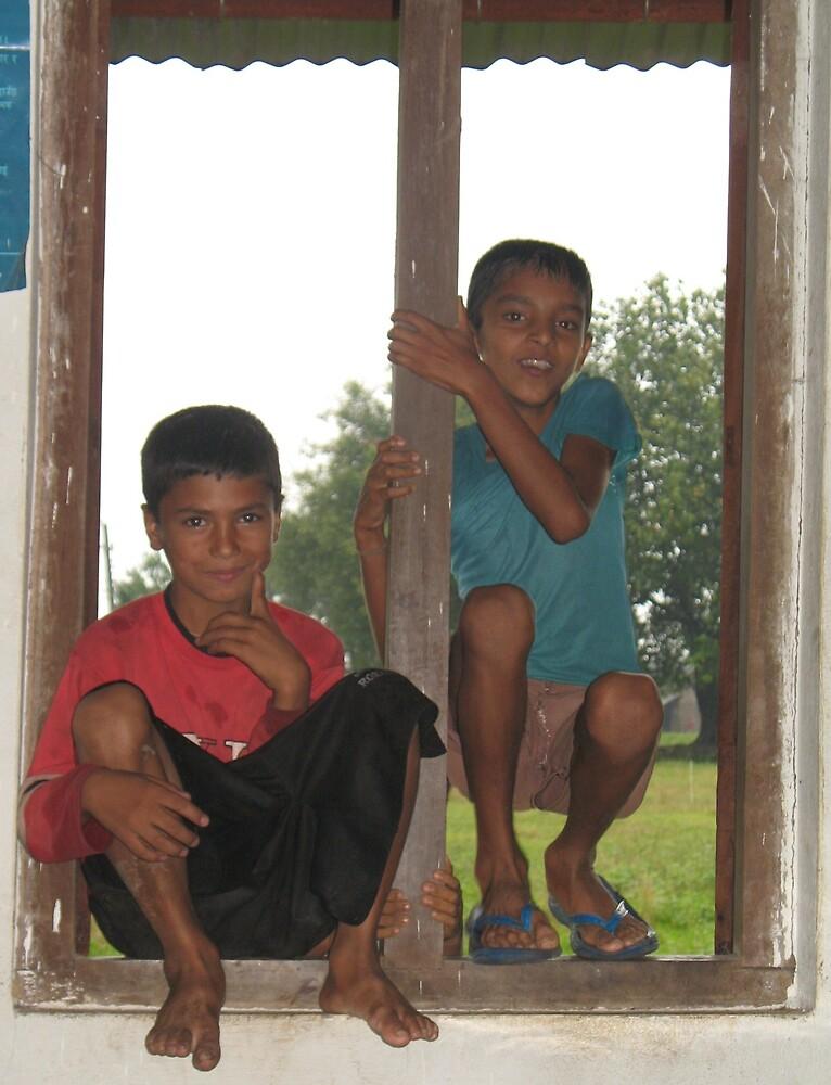 Boys in a window by TheNats