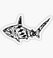 A Sharks Dimension  Sticker