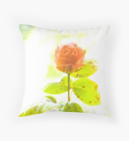 Beauty and the black spot Throw Pillow