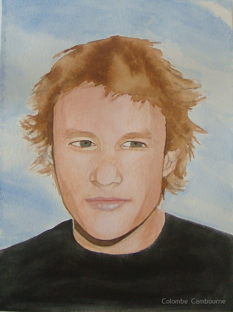 Heath Ledger by Colombe  Cambourne