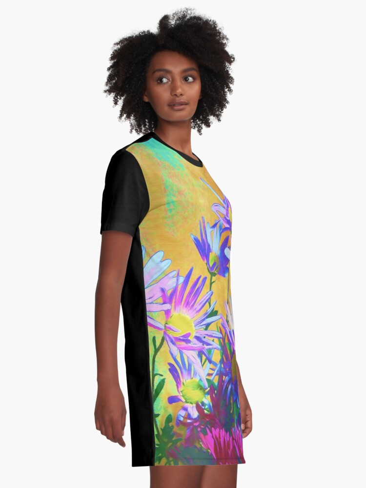 Alternate view of Flowers bloom Graphic T-Shirt Dress