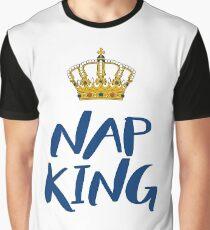 Nap King - white Graphic T-Shirt