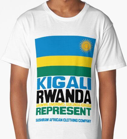 Kigali Rwanda, represent Long T-Shirt
