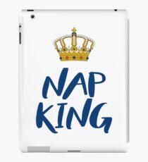 Nap King - white iPad Case/Skin