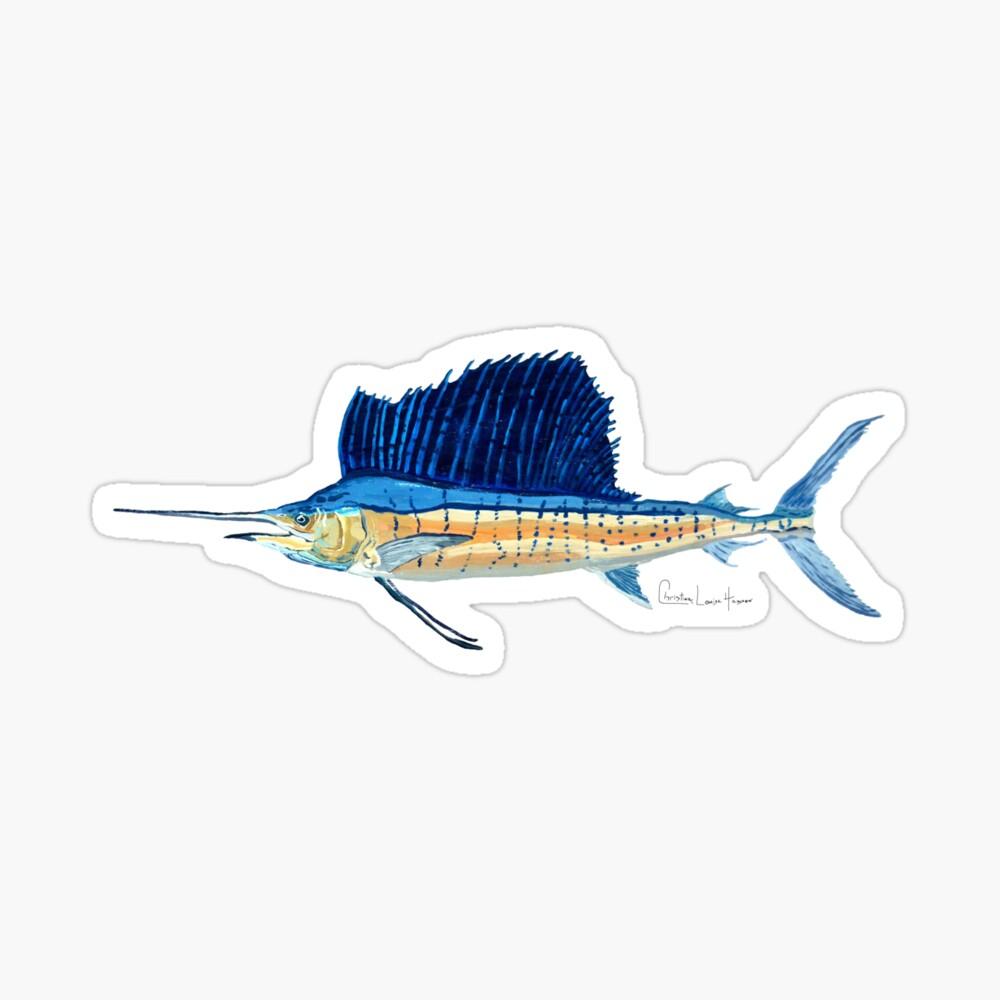 Sailfish Sticker