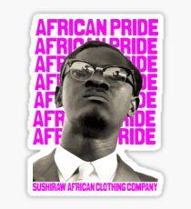African Pride Sticker