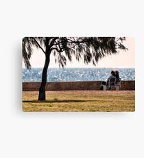 South Beach dreaming Canvas Print