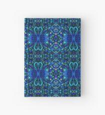 Blue Beads Hardcover Journal