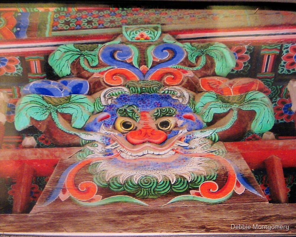 Korean Dragon Gargoyle by Debbie Montgomery