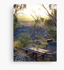picnic location Canvas Print