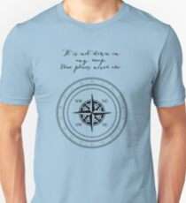 Moby Dick - Herman Melville - True Places Unisex T-Shirt