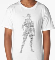 Metal Gear Solid - Solid Snake - Typography Long T-Shirt