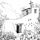 Chapel at DeGrazia's Gallery in the Sun by James Lewis Hamilton