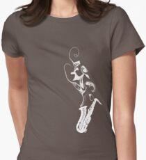 Sax White T-Shirt