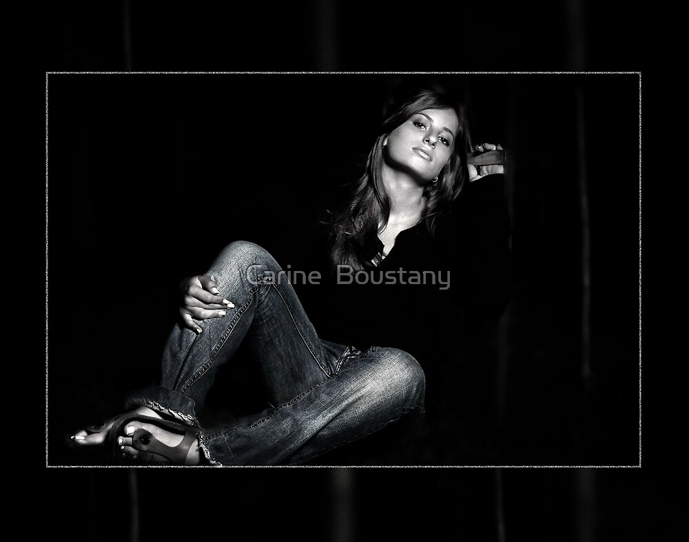 I Love My Jeans by Carine  Boustany