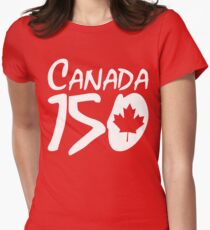 Canada 150 Womens Fitted T-Shirt