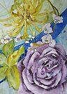 Birthday Flowers by Val Spayne