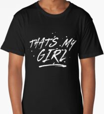Fifth Harmony That's My Girl Official 7/27 Merch #5 ( White ) Long T-Shirt