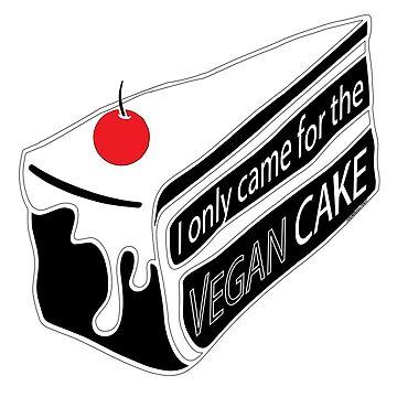 Vegan Cake by FOUNDationYOU