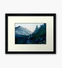 Heritage Art Series - Jade Framed Print