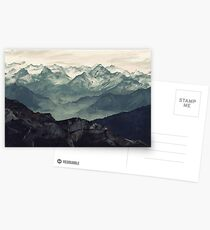 Mountain Fog Postcards