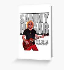 SAMMY HAGAR TOUR 2017 Greeting Card