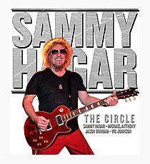 SAMMY HAGAR TOUR 2017 Photographic Print