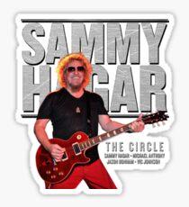SAMMY HAGAR TOUR 2017 Sticker