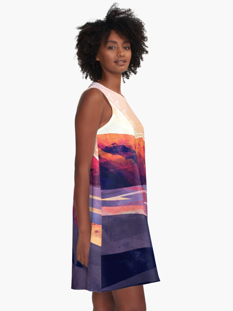Alternate view of Table Mountain A-Line Dress