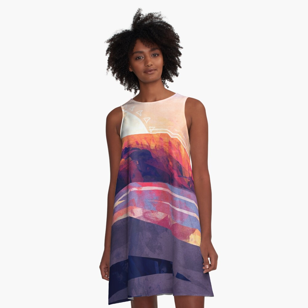 Table Mountain A-Line Dress