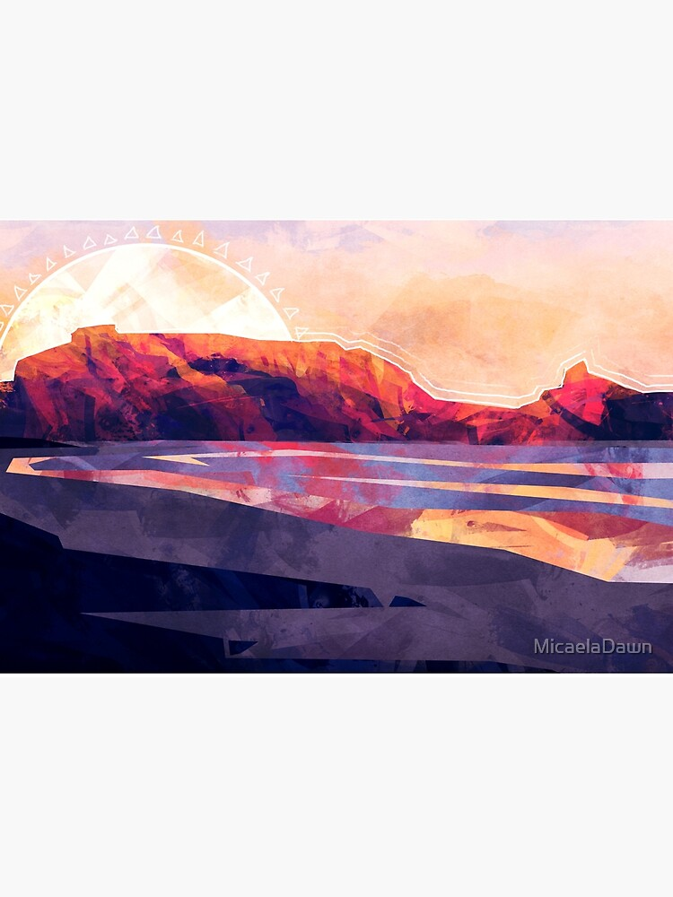 Table Mountain by MicaelaDawn