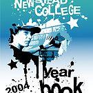 college year book by Zane Bennett
