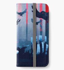 Blue Stone Landscape iPhone Wallet/Case/Skin