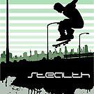 skate vector art graphic design by Zane Bennett