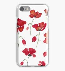 Swedish Poppies iPhone Case/Skin