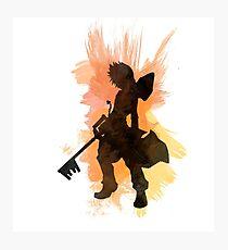 Kingdom Hearts: Watercolor Roxas Photographic Print