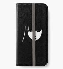 Emily the Strange: Emily's face iPhone Wallet/Case/Skin