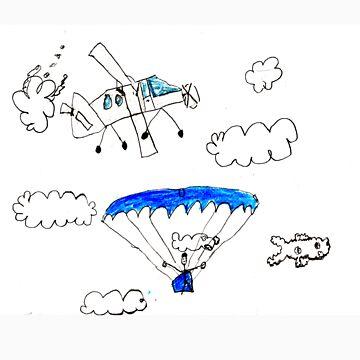 Parachuting by Rexy