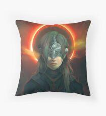 Fire Keeper Throw Pillow